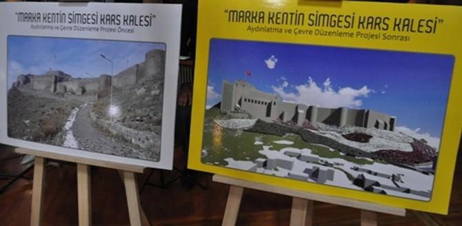 Tarihi Kars Kalesi'nin Işıklandırılması Başka Bahara Kaldı
