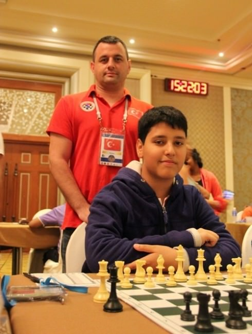 Yamanlar Öğrencisi Satrançta Dünya Üçüncüsü Oldu
