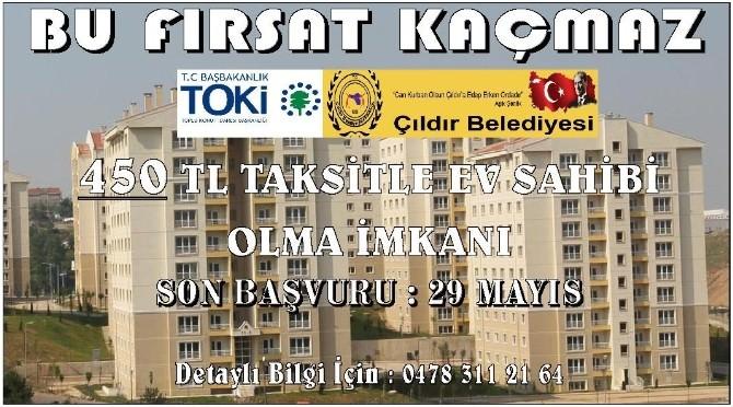 Başkan Azizoğlu'ndan TOKİ Açıklaması