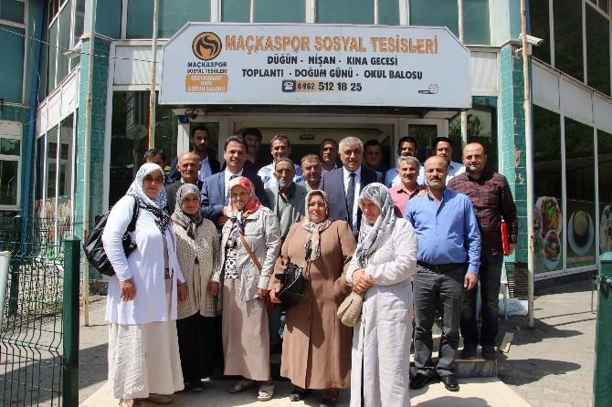 Maçka Belediye Başkanı Koçhan, Umre Vaadini Yerine Getiriyor