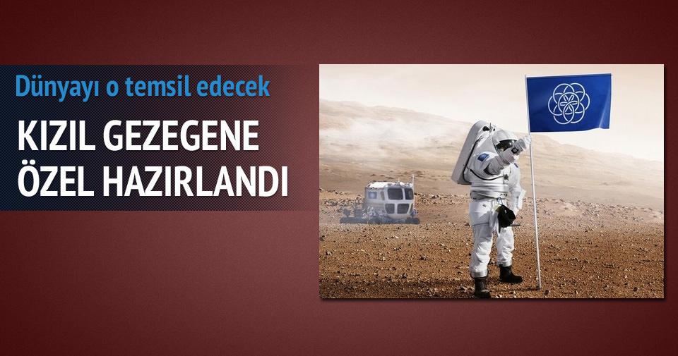 MARS'A İŞTE BU BAYRAK DİKİLECEK