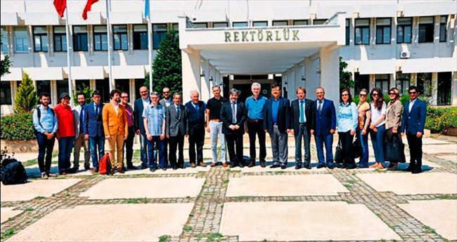 İtalyan akademisyenler Misis projesi için Adana'ya geldi