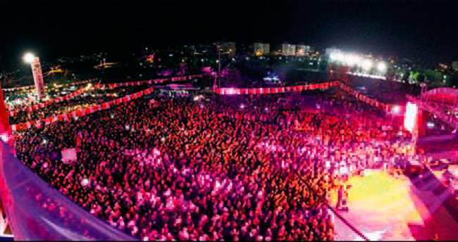 Yenimahalle'de Karadeniz gecesi