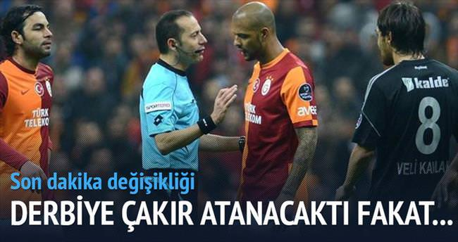 UEFA: Çakır'ı riske atmayın