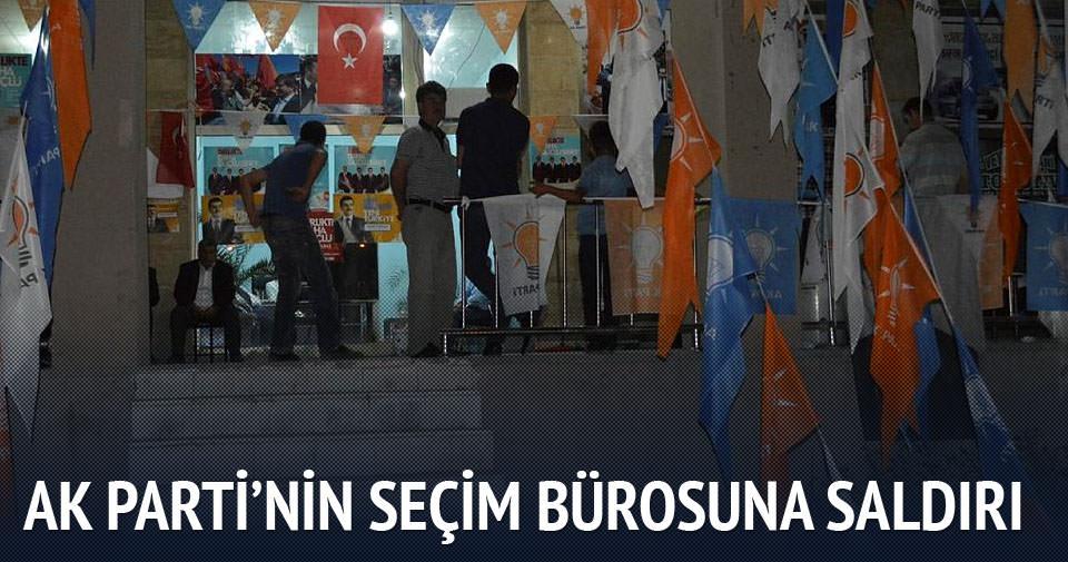 AK Parti seçim bürosu kundaklandı