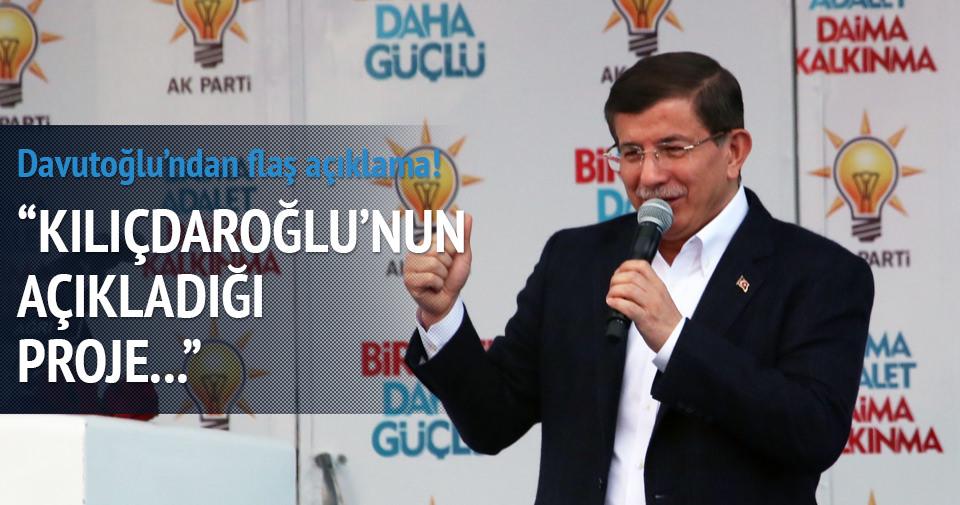 Davutoğlu: Kılıçdaroğlu hırsızlık yapmıştır