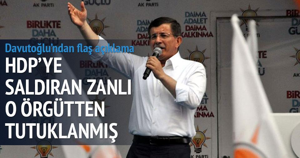 HDP'ye saldıran zanlı daha önce DHKP-C'den tutuklanmış
