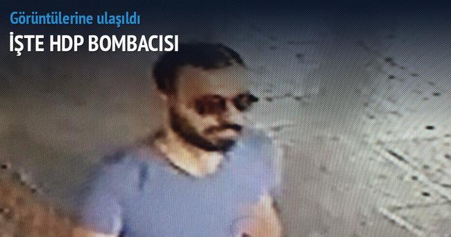 İşte HDP'ye saldırısını yapan teröristin ilk görüntüsü