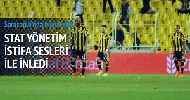 Saracoğlu'nda 'yönetim istifa' sesleri!