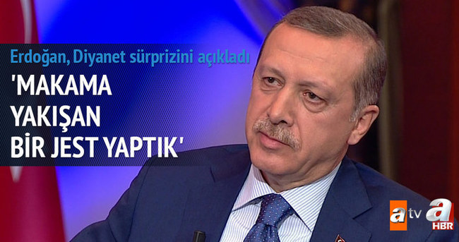 Diyanet İşleri Mehmet Görmez'e yeni makam aracı