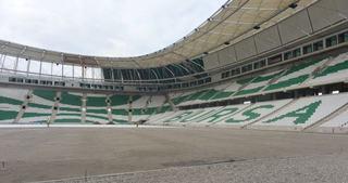 Timsah Arena'da zeminde son nokta