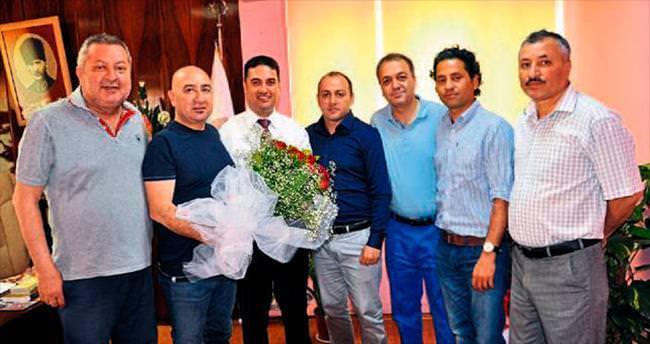 TSYD'den İl Müdürü Ataşbak'a ziyaret