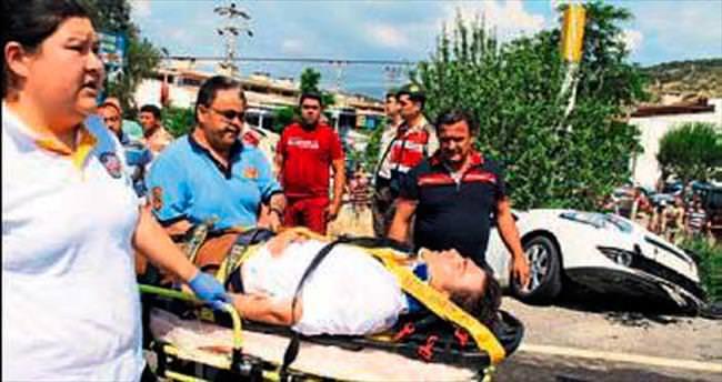 AK Partili aday yaralandı