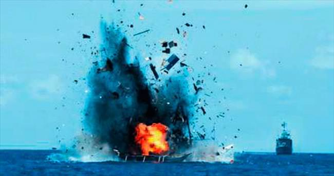 Endonezya 41 balıkçı teknesini batırdı