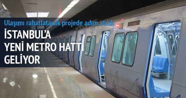 Kabataş metrosunun temeli atıldı