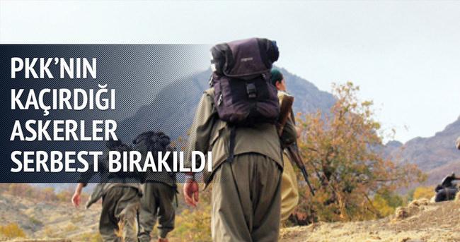 PKK tarafından kaçırılan asker serbest bırakıldı