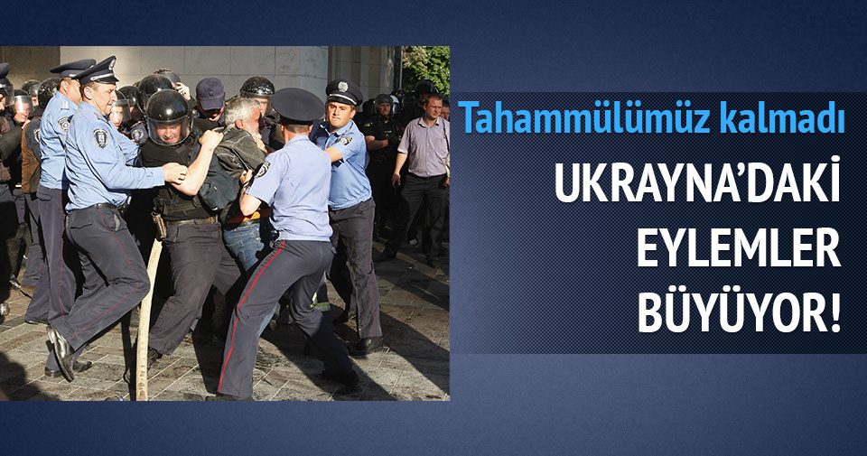 Ukrayna'da, Finansal Meydan eylemi