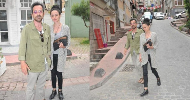 Feridun Düzağaç 26 yaş küçük sevgilisiyle görüntülendi
