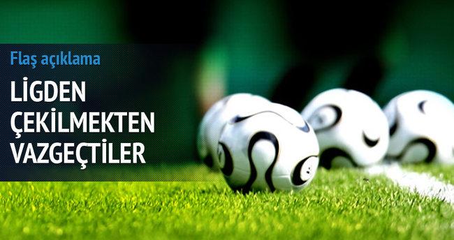 Yeni Diyarbakırspor ligden çekilmekten vazgeçti