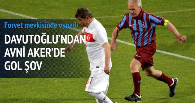 Davutoğlu, Trabzon'da gol şov yaptı!