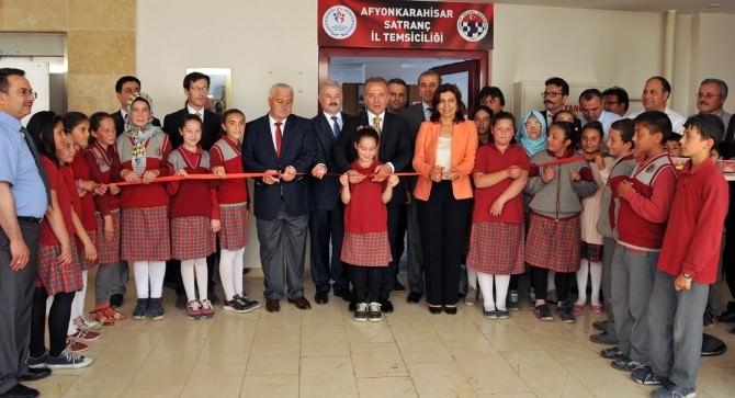 Afyonkarahisar'da Satranç İl Temsilciliği Açıldı