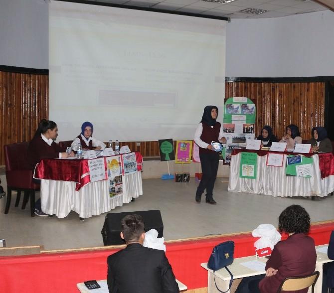 Ağrı'da Liseler Arası Münazara Yarışması