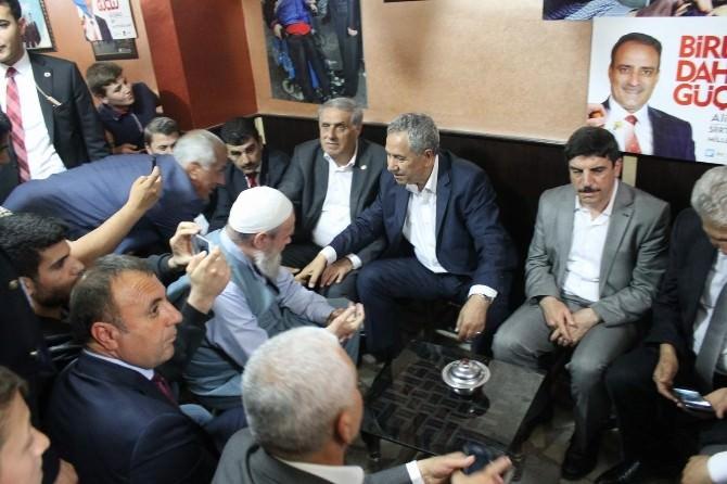 Başbakan Yardımcısı Arınç'a Siirt'te Yoğun İlgi