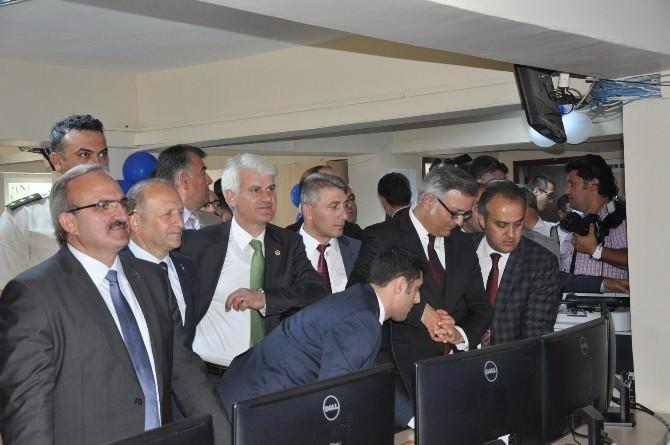 İnegöl'de Hem Binası Ve MOBESE Sistemi Açıldı