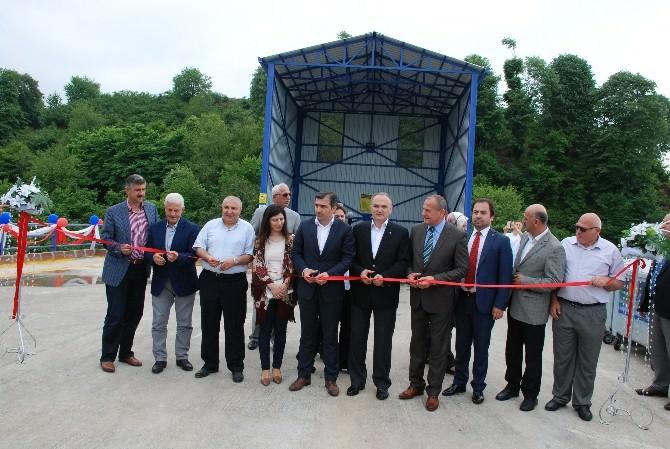 Akçakoca Katı Atık Aktarma İstasyonu Açıldı