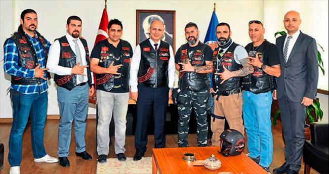 Motosiklet eğitimi için Mersin Üniversitesi ile işbirliği yapıldı