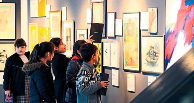Folkart Gallery'den miniklere özel kurs