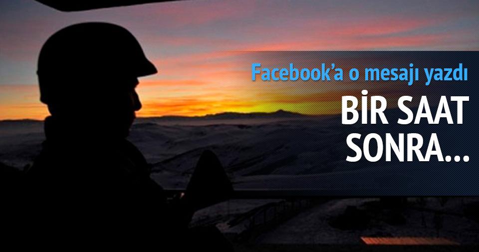 İntihar notunu Facebook'ta paylaşan asker ölü bulundu