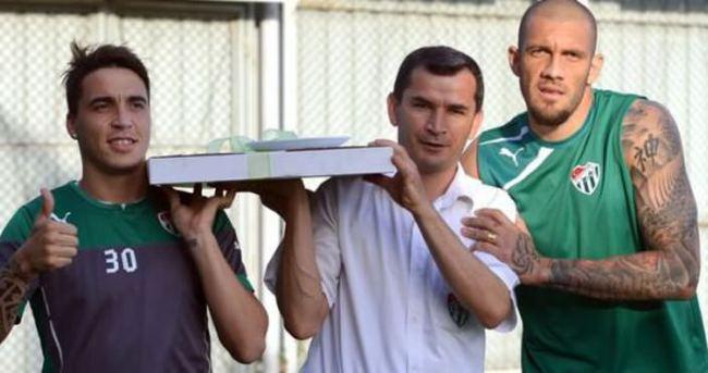 Davutoğlu'ndan Bursaspor'a final sürpriz!