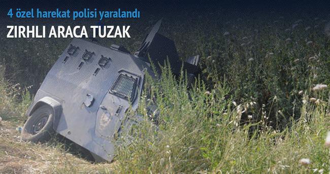 Şırnak'ta zırhlı araç devrildi: 4 yaralı