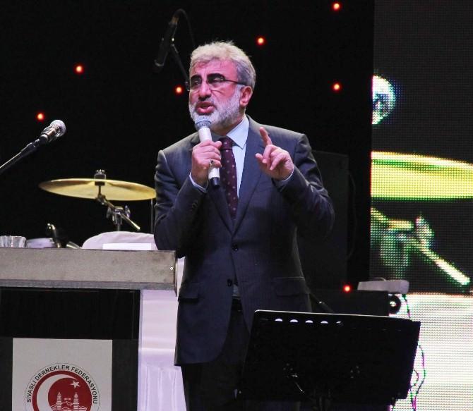 Kayseri'de Yaşayan Sivaslılar 'Sivaslılar Gecesi'nde Buluştu