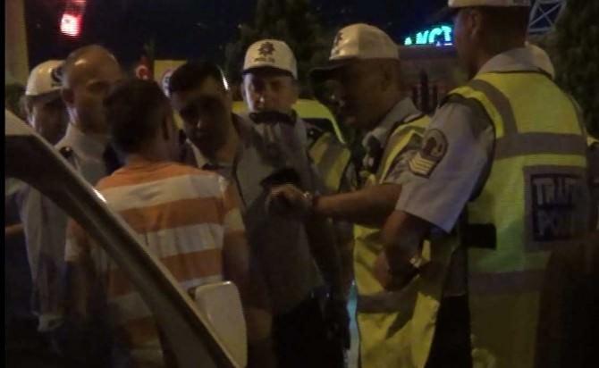 Giresun'da Alkollü Sürücü Polise Zor Anlar Yaşattı