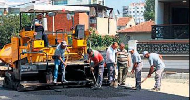 Şemikler'e 7 bin 500 ton asfalt