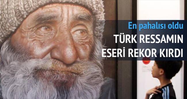 Türk ressamın eseri Tayvan'da satıldı