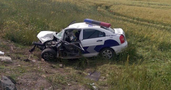Korkunç kaza: 1 polis şehit