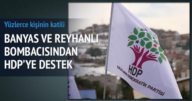 Banyas ve Reyhanlı katliamcısından HDP'ye destek