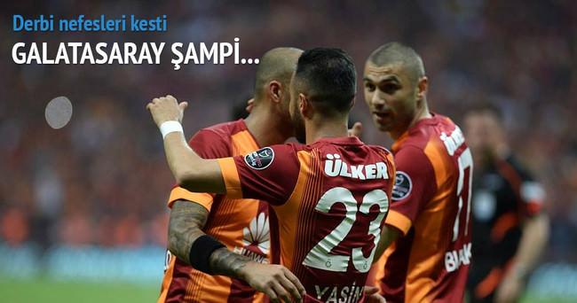 Dev derbi Galatasaray'ın