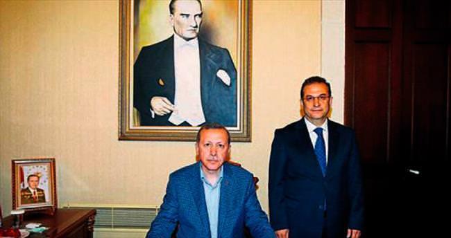 Erdoğan'dan Valilik ve belediye ziyareti