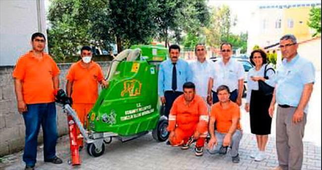 Osmaniye Belediyesi'ne vakumlu temizlik aracı