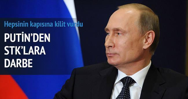 Rusya'da 'istenmeyen STK'lara kilit