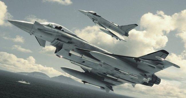 Suriye hava saldırısına başladı