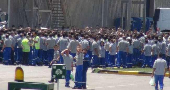 Eskişehir'de Ford Otosan'da işçilerin eylemi sürüyor