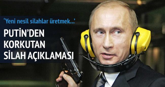 Putin'den korkutan silah açıklaması