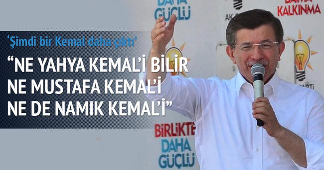 Başbakan Davutoğlu Tekirdağ'da konuştu