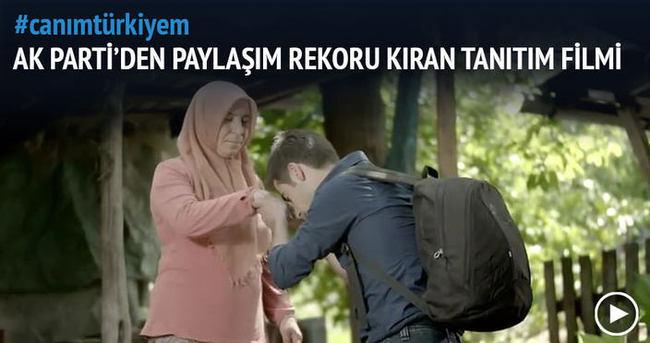 AK Parti'den yeni tanıtım filmi