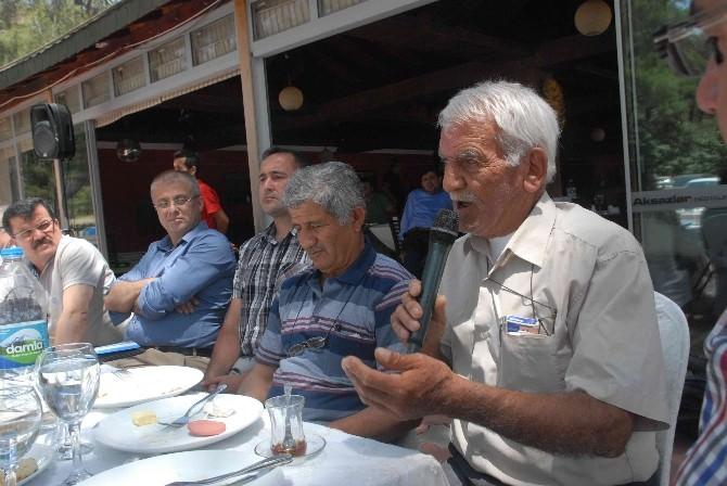 AK Parti'li Hasan Özyere Muhtarlardan Büyük Destek